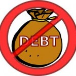 no debts