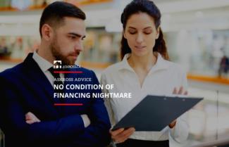No Condition of Financing Nightmare
