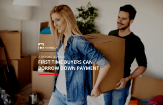 First Time Buyers Can Borrow Down Payment