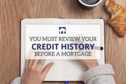 you must review credit history