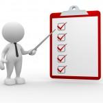 checklist mascot