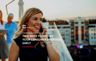 Two Ways To Pay Off Your Consumer Proposal Early