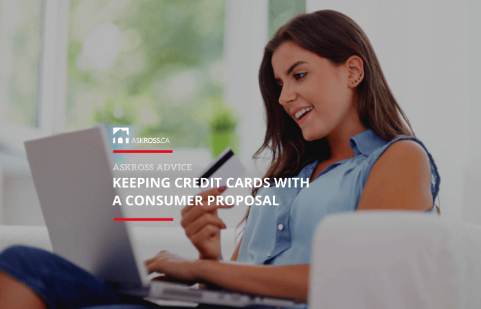 Keeping Credit Cards with a Consumer Proposal