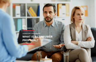 What is a Consumer Proposal?