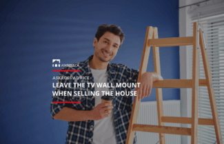 Leave the TV Wall Mount When Selling the House