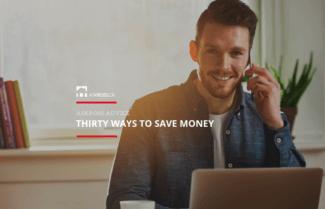 Thirty Ways To Save Money