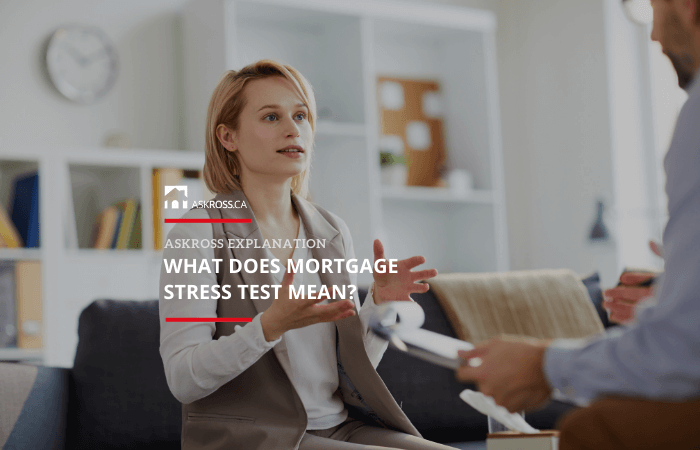 What does mortgage stress test mean?