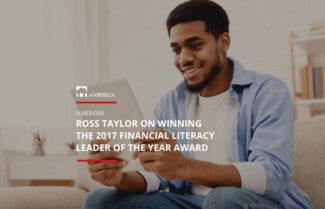 Ross Taylor on Winning the 2017 Financial Literacy Leader of the Year Award