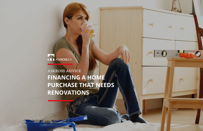 Financing a Home Purchase That Needs Renovations
