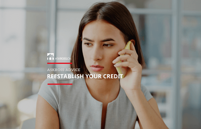 Reestablish your credit
