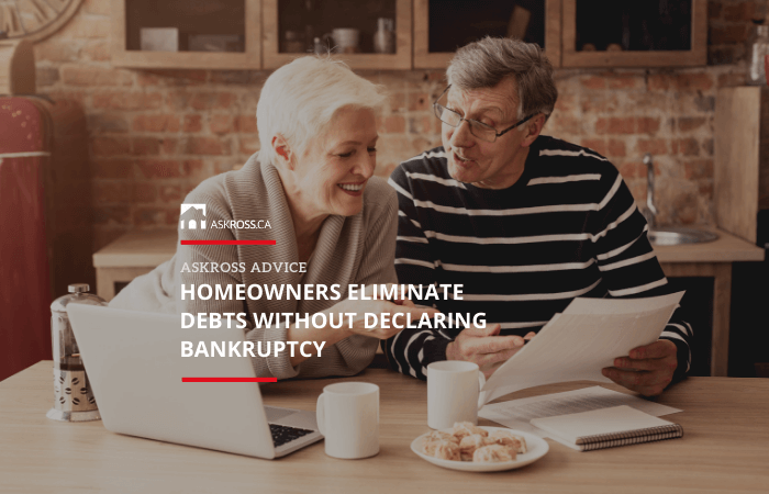 Homeowners Eliminate Debts Without Declaring Bankruptcy